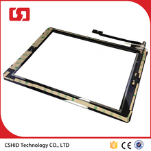 AAA China factory price panel touch glass Digitizer Assembly replacement For iPad 3/4