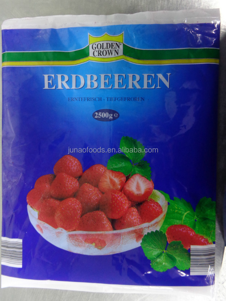 Frozen Fruit Jam Strawberry Jam