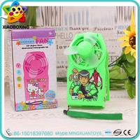 Promotional toy plastic 5v dc electronic charger mini fan for sale