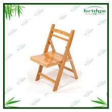 2014 bamboo outdoor square back rest chair baby high chair