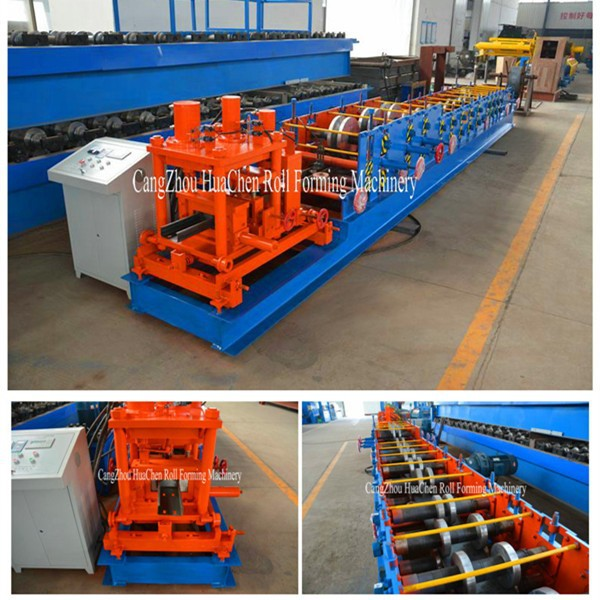 HC80 - 300 metal&steel profile c z purlin roll forming machine production line