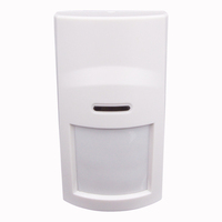 Anti-intruder burglar system smart wireless PIR motion sensor (MS-01) low battery alert