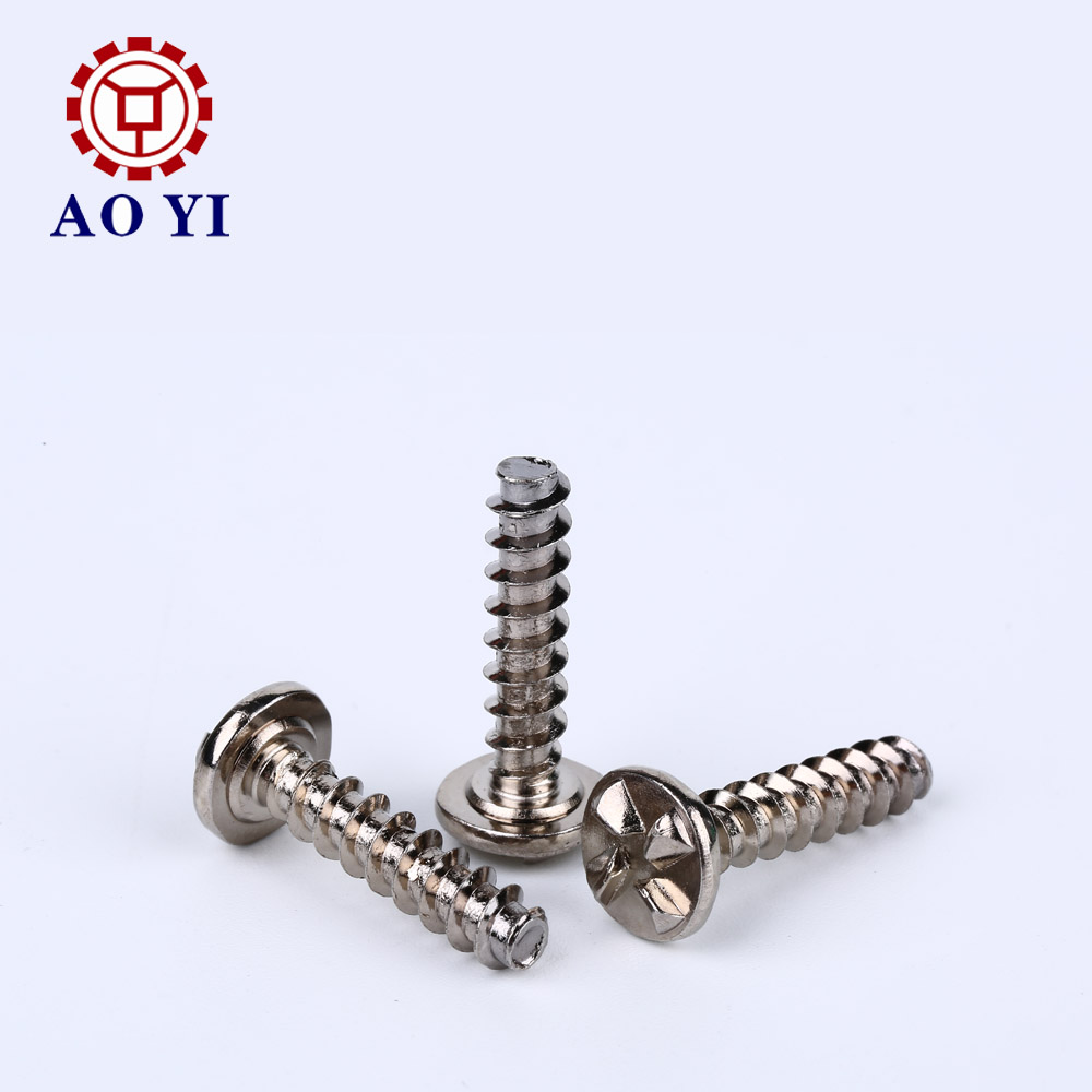 Alloy Steel Thread Forming Screw Special Head Can Be Locked Can't be Withdraw