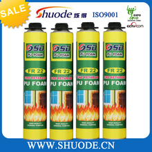 750ML FireProof spray packing and shipping polyurethane caulking agent