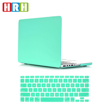 2 in 1 Clover Green hard case and keyboard cover for mac book air 13 case