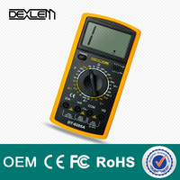 DELE DT9205a low price digital multimeter brands specifications