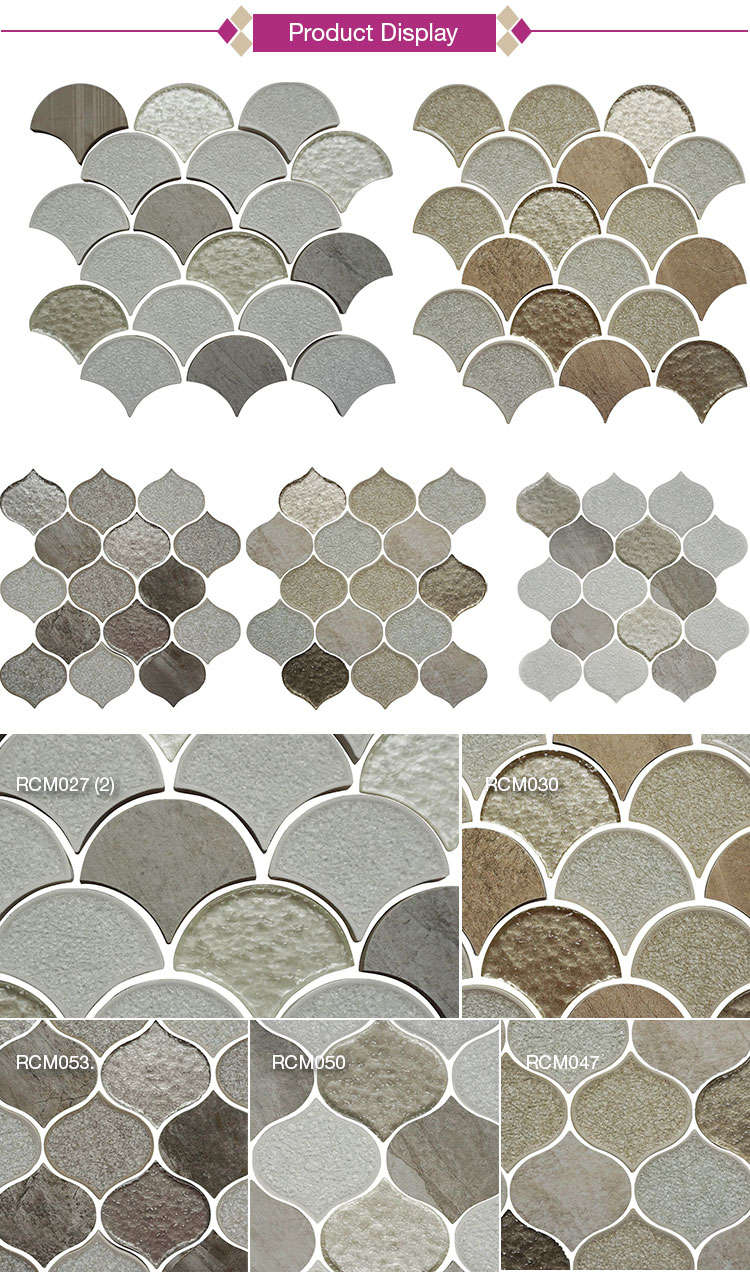Wholesale Interior Decoration Designs Mosaic Bathroom Wall Tile
