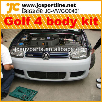 PU 2003-05 Golf IV/Golk MK4/Golf 4 body kit R32 Style for VW