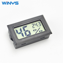 Mini Digital LCD Aquarium Fridge Freezer water Humidity Temperature Meter gauge Thermometer Hygrometer YS-11