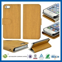 2014 new design custom mobile phone accessories for iphone5 leather case