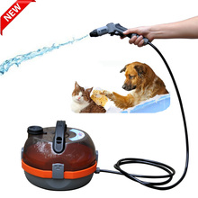 Pet Bathing Tool Battery Pet Shower Sprayer for Horse, Cat, Dog Wash and Grooming
