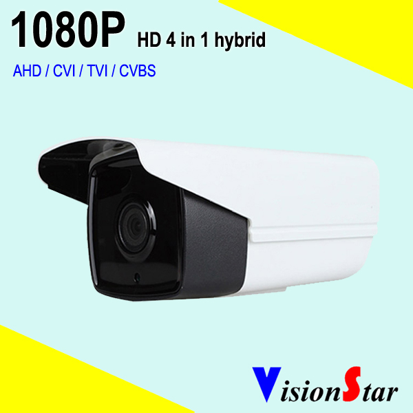 Cheap sony imx323 hd hybrid camera 1080p video cctv home system 2.0mp bullet array led type