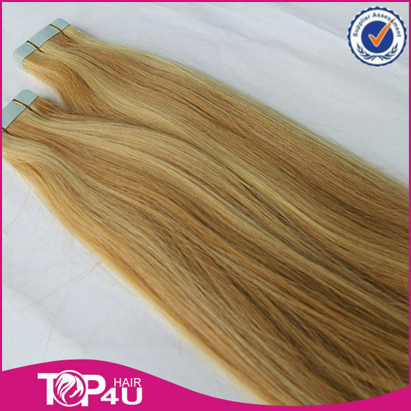 Wholesale hight quality 100% virgin remy cheap ombre tape hair extensions