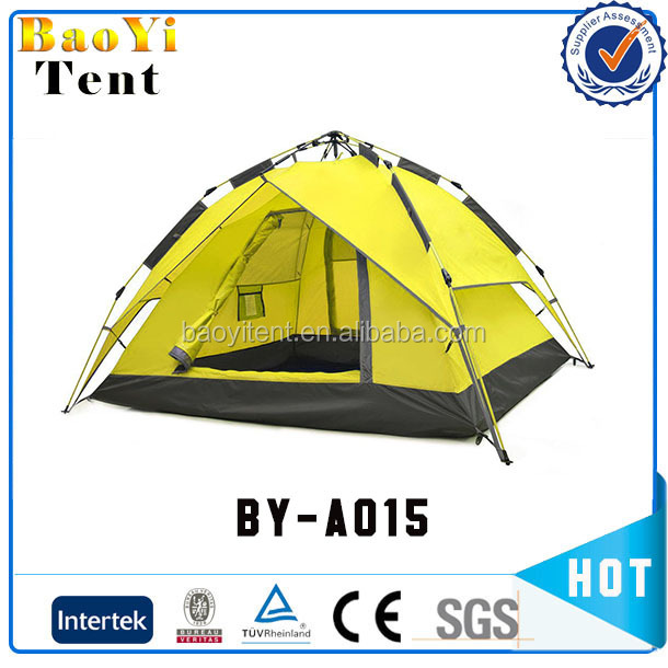 Easy set up automatic waterproof light weight portable hiking camping dome tent