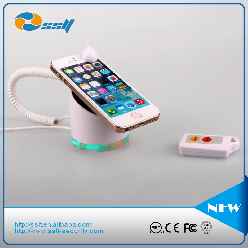 mobile phone anti theft alarm anti theft device for cell phone display with charging & alarm