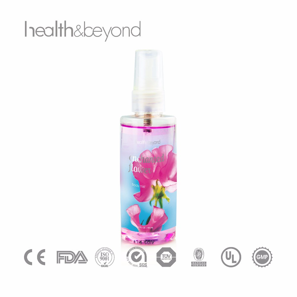 scenabella body mist bath and body body mist works OEM customized perfume body mist