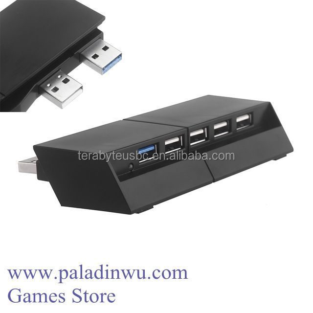 Factory 5 Ports High Speed Expansion USB HUB for PS4 Console Best Price