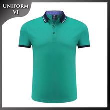 100% cotton pique custom printed logo man polo t-shirt