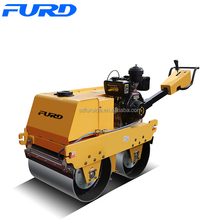 FYLJ-S600C Manual Vibratory Smooth Wheel Roller For Sand Compaction