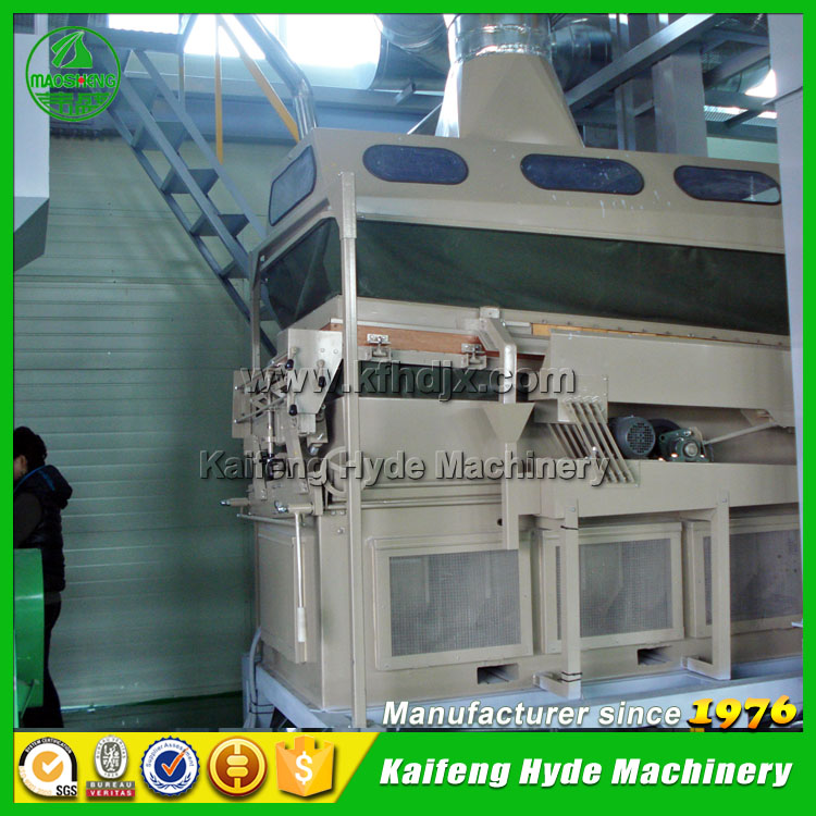 5ZT pigeon peas seed cleaning grading sorting packing plant for sale