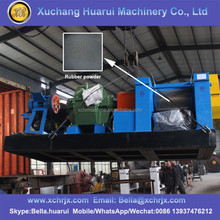 Energy saving rubber machine waste tyre recycling plant