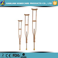 JL arm walking cane wooden crutches JL935 size(S/M/L)