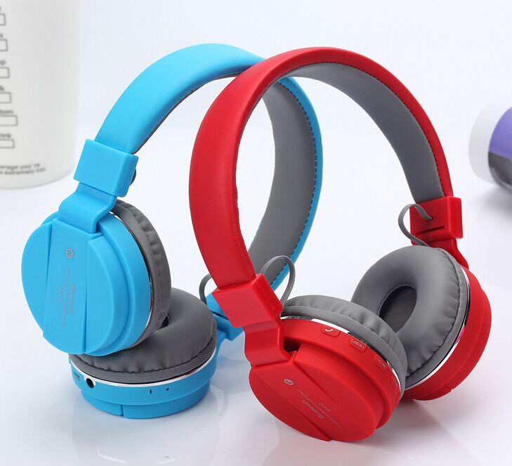 High quality stereo bluetooth am fm radio headphone with mic