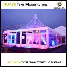 Huaye Wedding Tent with cloth curtain for sale,Time limit 10 percent off 0