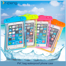 Hot! mobile phone PVC bag waterproof phone case for lg k10