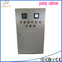 PLC program electrical control panel soft starter cabinet switchgear panel