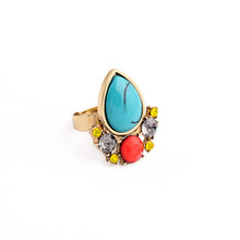 2015 Women Fashion Turquoise Ring
