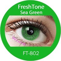 Freshtone flashy and adorable non-prescriptive color contact lenses from Korea