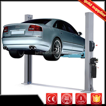 Low ceiling Motor 220V/380V two post car lift 2 columns used