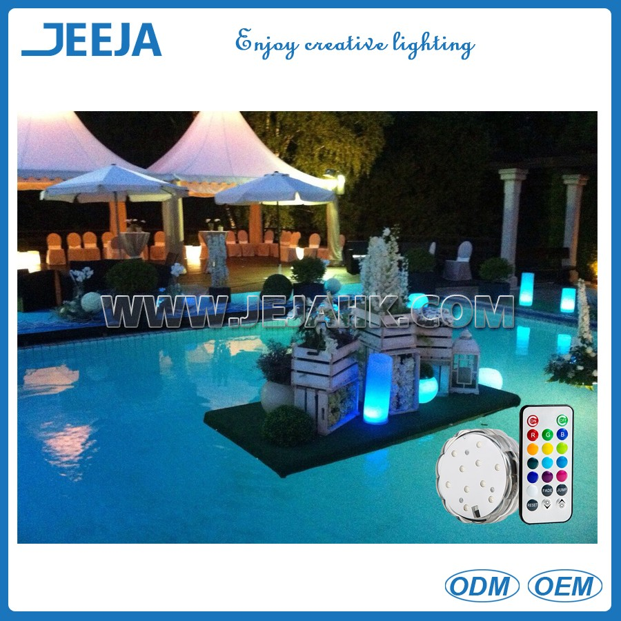 Waterproof Submersible Led Lights Underground Decoration Lamps