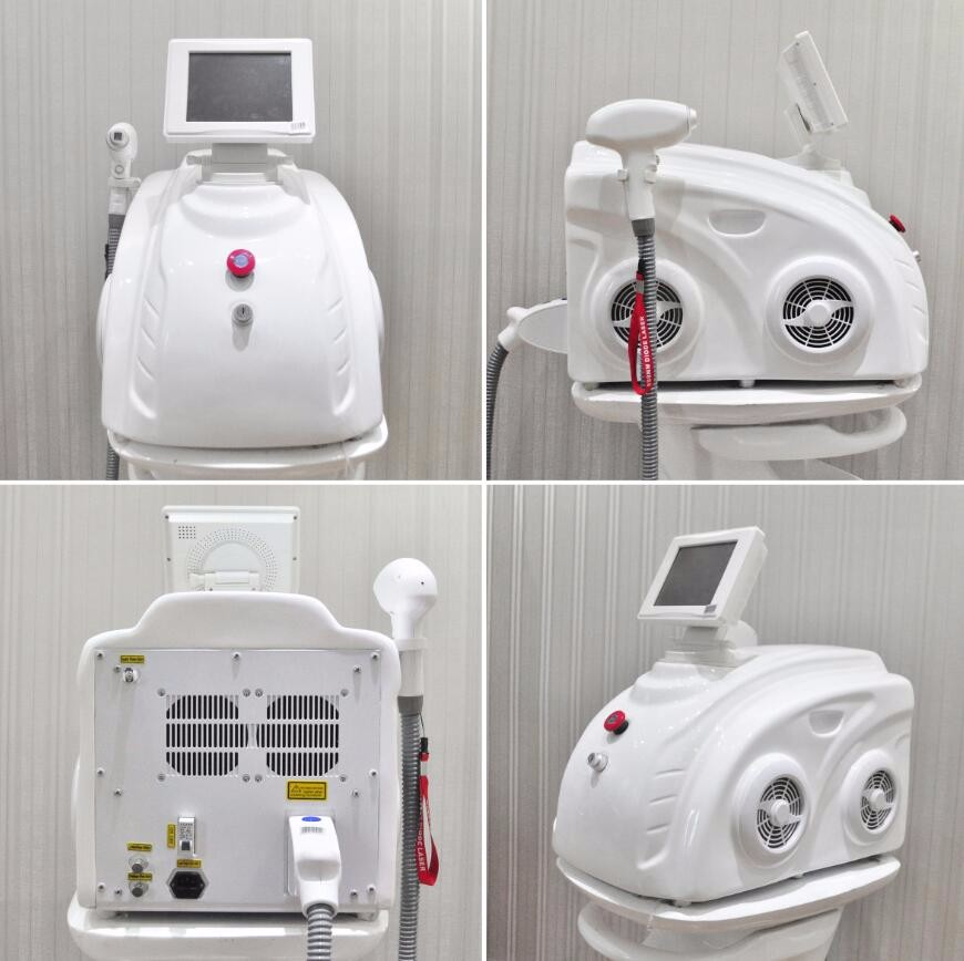 Anybeauty professional safety and permanent hair removal portable 808nm laser machine