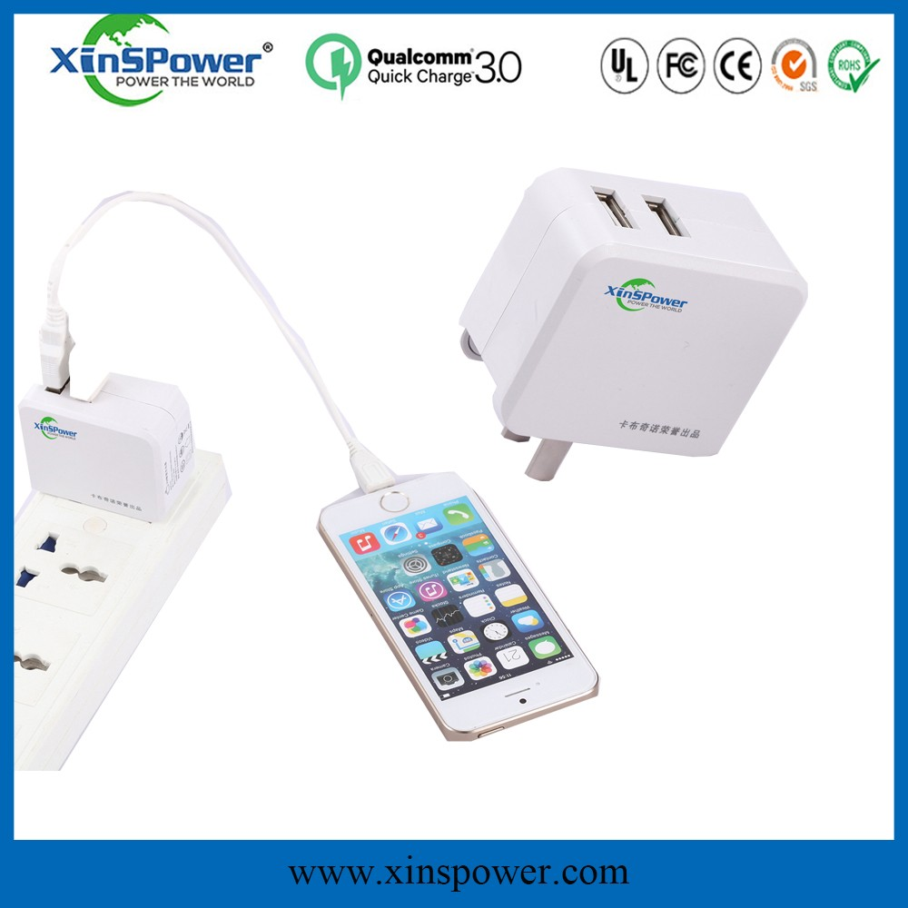 Quick charger bulk item wifi mobile charger with mini humidifier charger for iphone 6 plus