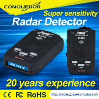 2016 Anti Speed Radar Detector With X K Ka Ku Laser Strelka 16 Bands LED Display Alarm System Anti Police Radar Car Detect