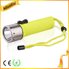 Underwater Scuba Diving Equipment LED Diving Flashlight Fishing Light