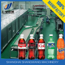Complete Carbonated Beverage Bottling Plant / PET Bottle Cartonated Beverage Production Line