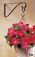 Natural materials cheap wholesale hanging basket