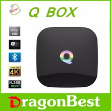 factory price promise original Qbox tv box amlogic s905 qbox hd satellite receiver