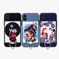 PC TPU Standing custom design bulk cell phone cover case for iphone x