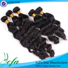Famous factory price 100% unprocessed virgin brazilian hair china suppliers