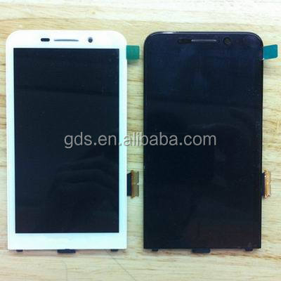 For blackberry z30 lcd screen with digitizer with frame black & white (4G Version)