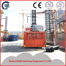 Lifting automatically rack and pinion construction hoist /elevator