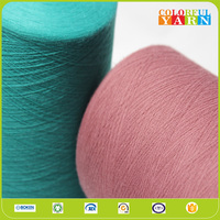 flame and well pendency polyester cotton blended yarn