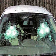 Bulletproof glass for cars and house windows
