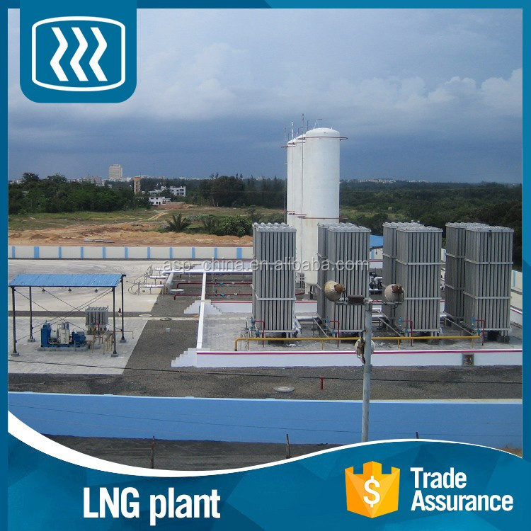 For sale high effectioncy low power consumption liquid gas mini lng plant