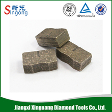 Granite edge cutting tools diamond cutting saw blade segment