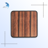 Wooden gift craft for business choice custom gaming printed mouse pad